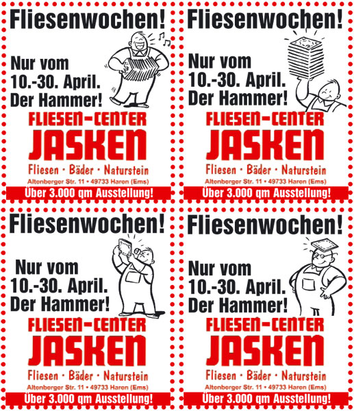 Jasken Fliesen-Center - Werbeagentur Emsland | PR- und ...